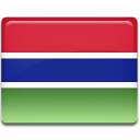 Gambia Flag 128